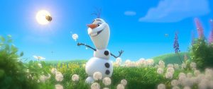 Olaf-from-Frozen-running-in-a-field